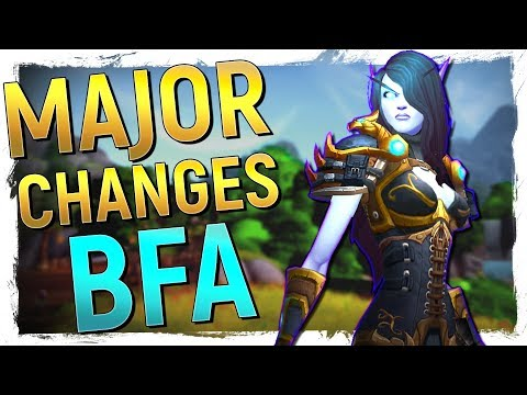 The LARGEST Class Changes & REVAMPS in...