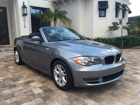 2009 Bmw 128i Convertible For By Auto Europa Naples Mercedepert