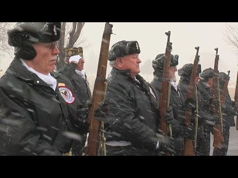 Ft. Snelling Memorial Rifle Squad Passing On Tradition