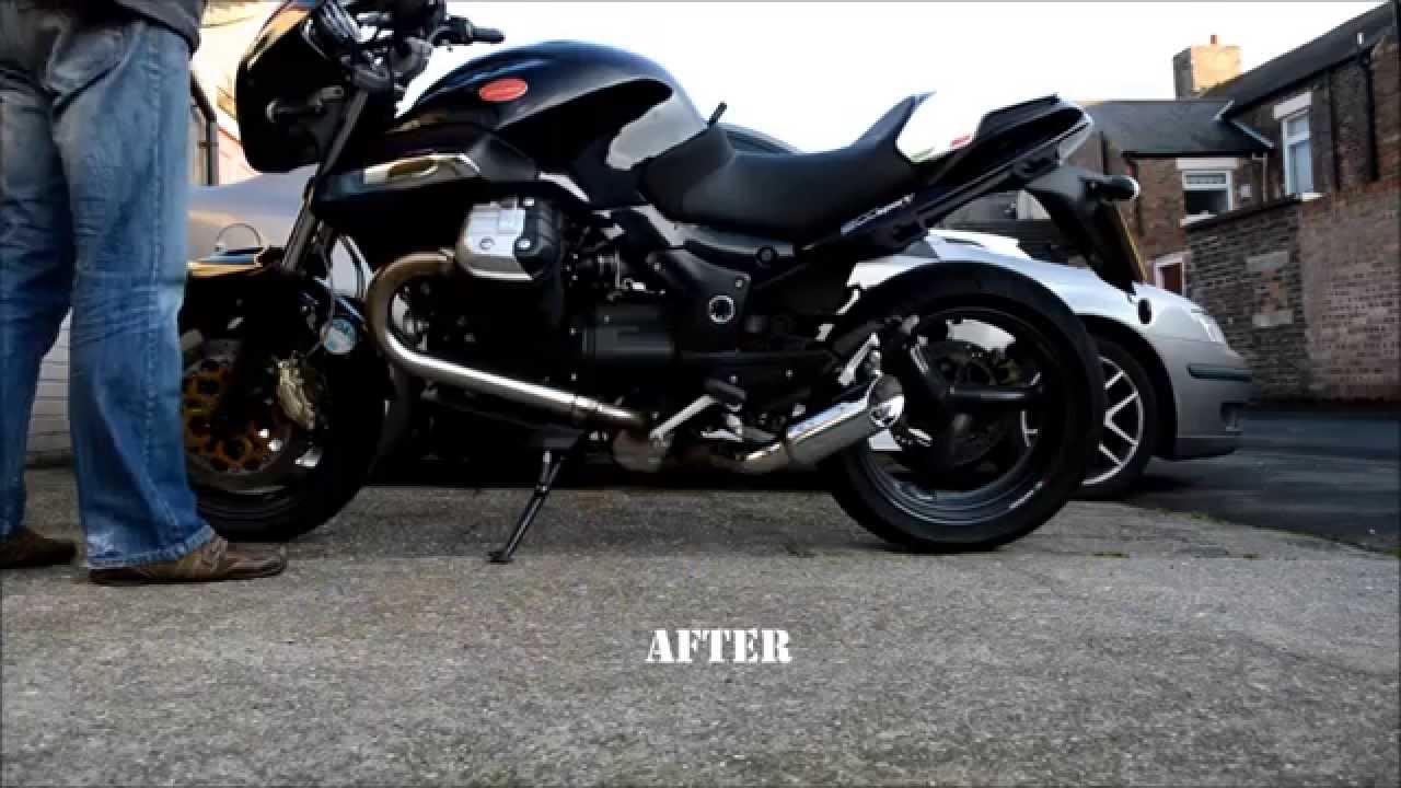 frank 39 s manreli exhaust moto guzzi 1200 sport 4v uk. Black Bedroom Furniture Sets. Home Design Ideas