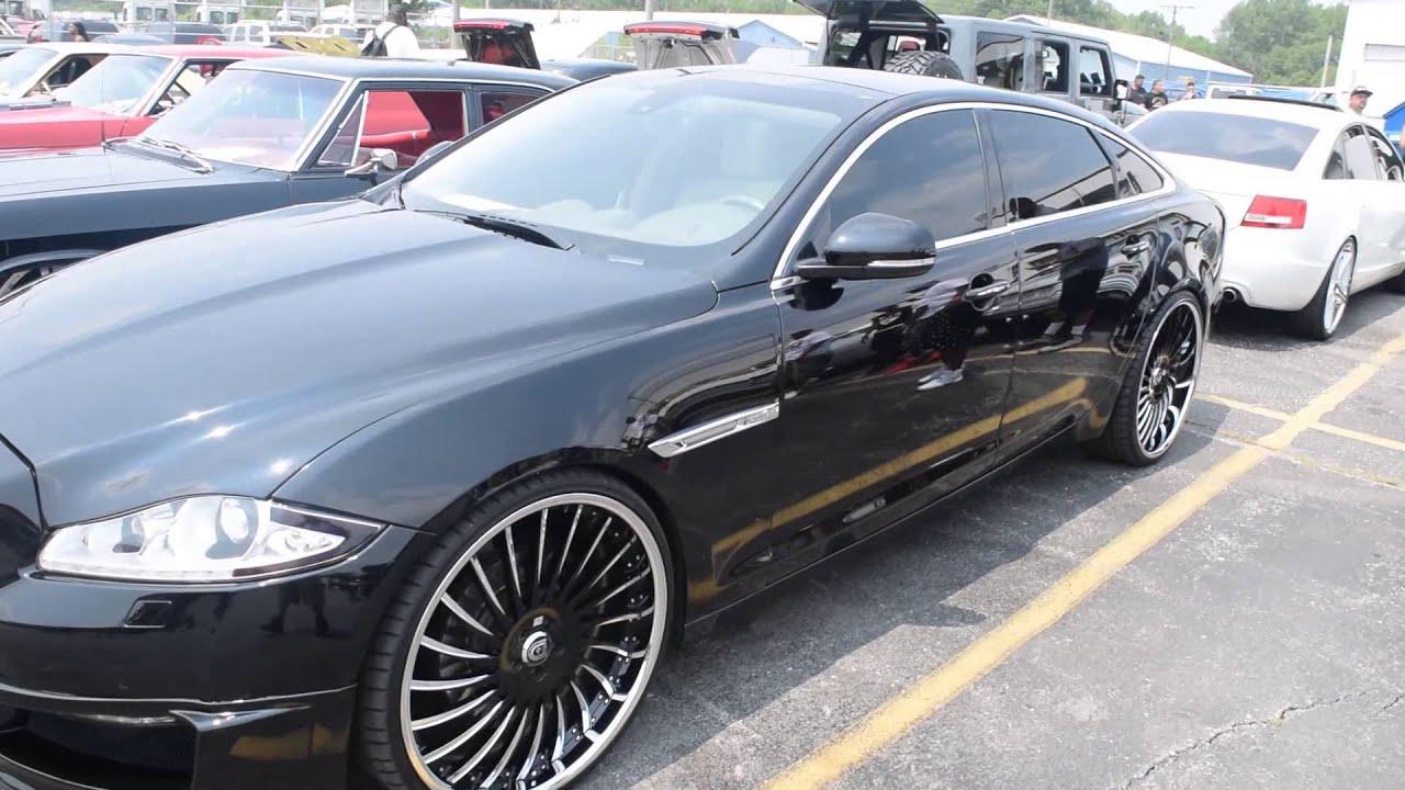 Jaguar Xjl On 24 Quot Lexani Wheels 2015 Stunna Jam Car Show