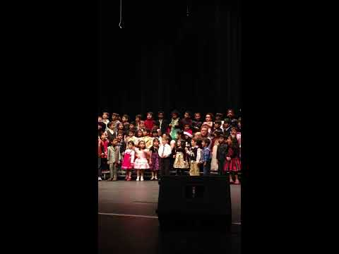 Dhiya Performing at Americas Child Montessori School Function