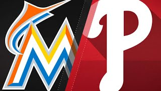 8/22/17: Yelich shines as Marlins sweep doubleheader
