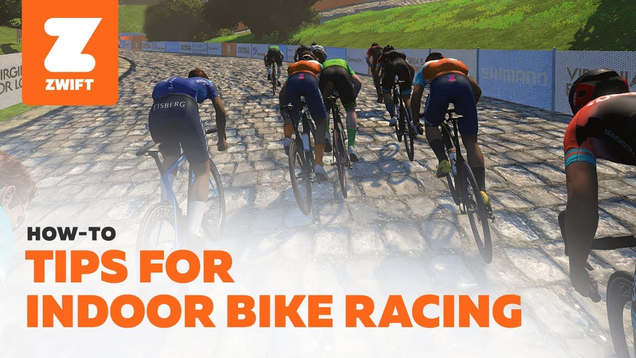 Everything You Need To Know About Indoor Bike Racing Zwift Youtube
