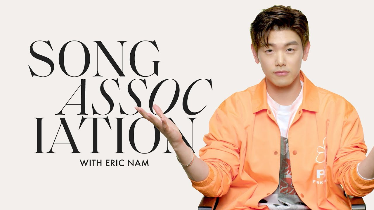 Eric Nam Sings Justin Bieber, Justin Timberlake, & Alicia Keys in a Game of Song Association