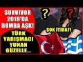 Survivor 2019 Adasında Bomba Aşk! Türk Yarışmacı Yunan Güzelle Aşka Geldi!