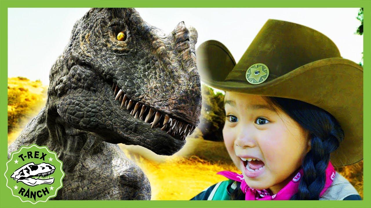 Dinosaur Time Machine Gadget! T-Rex Ranch