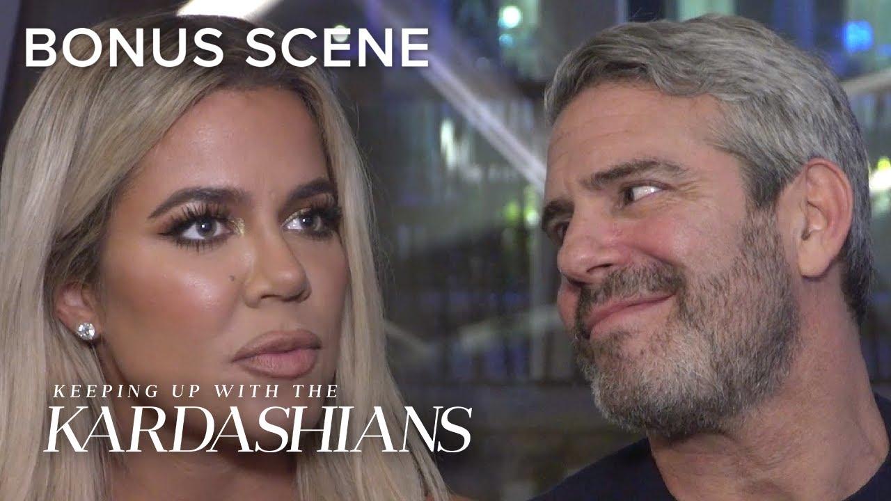 Andy Cohen Gets Kardashian Scoop From Khloé | KUWTK Bonus Scene | E!