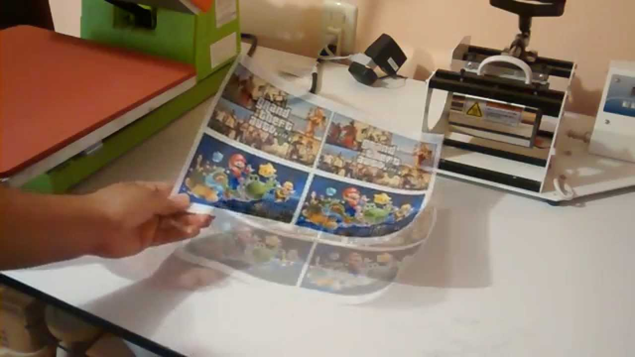 Vinil Transparente Sublimable Imprimir Stickers O Calcas Youtube