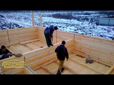 Пример соединения бруса при строительстве дома смотреть видео онлайн