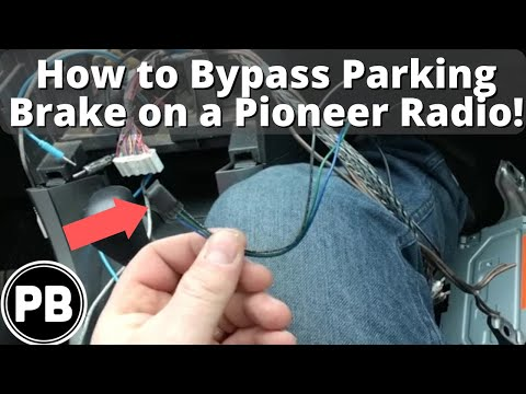 Chevy Stereo Wiring Harness Diagram How To Bypass The Pioneer Parking Brake For Video Playback