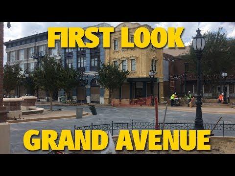 First Look at Grand Avenue at Disney's Hollywood Studios | Walt Disney World