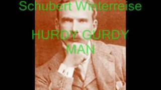 HARRY PLUNKET GREEN - 1934 HURDY GURDY MAN - SCHUBERT Der Leiermann -  Wintterreise