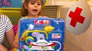 Распаковка и обзор детский набор доктора