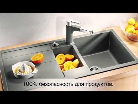Кухонные мойки Blanco - воплощение комфорта в каждом доме