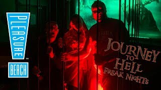Journey To Hell Freak Nights Preview Vlog | Blackpool Pleasure Beach