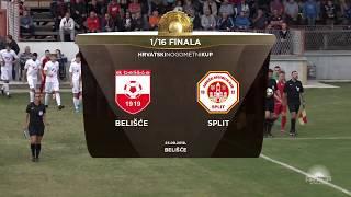 BELIŠĆE vs SPLIT 3:1 (šesnaestina finala, Hrvatski nogometni kup 19/20)