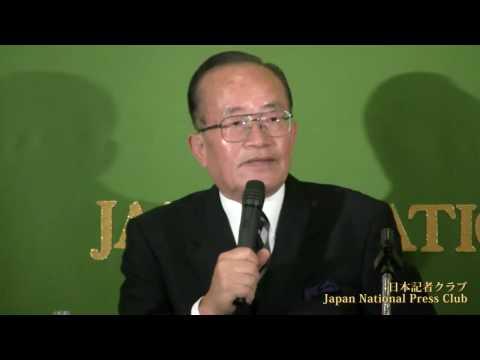 森田一 元衆議院議員・大平首相秘書官 2010.8.3
