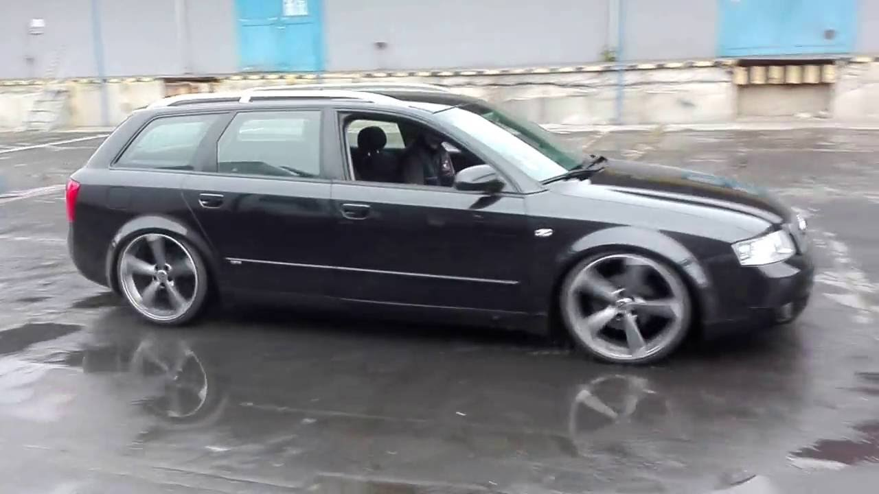 slammed audi a4 b6 avant 19 rotor youtube. Black Bedroom Furniture Sets. Home Design Ideas