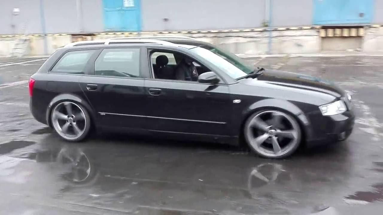 Slammed Audi A4 B6 Avant 19 Quot Rotor Youtube