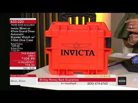 Invicta Power Play March 27, 2018 on Evine