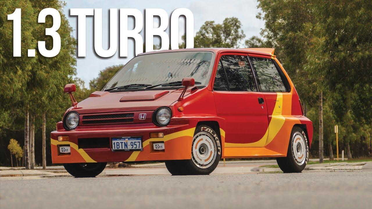 1985 Honda City Turbo I