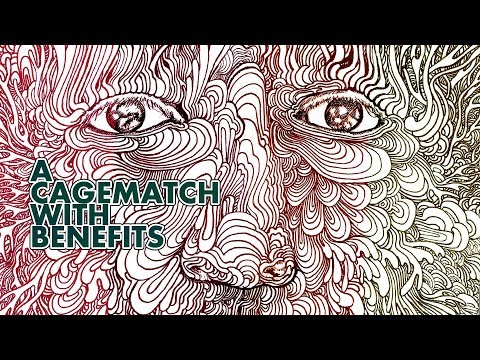 A cagematch with benefits (The SUPERGOD! movie)
