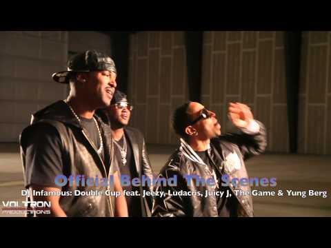 DJ Infamous Double Cup ft. Jeezy, Ludacris, Juicy J, The Game & Yung Berg Official BTS