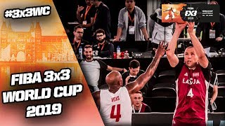 Poland v Latvia | Men's Full Game | FIBA 3x3 World Cup 2019