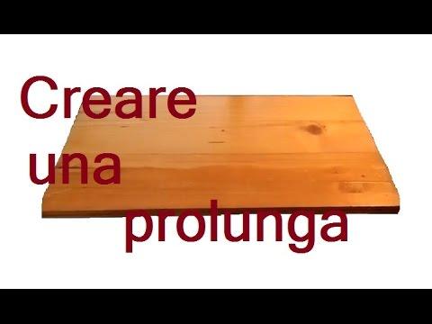 Creare una prolunga per il tavolo by Paolo Brada DIY  YouTube