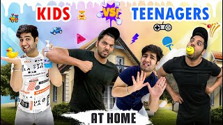 KIDS vs TEENAGERS at HOME || JaiPuru