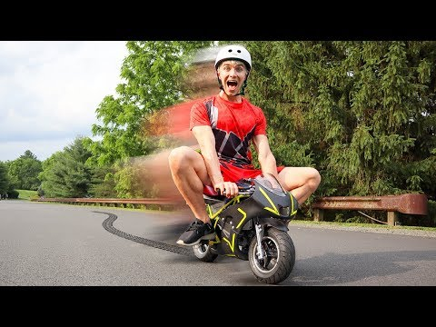 WORLDS SMALLEST MOTORCYCLE!! (SO TINY)