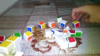 Как разобрать и собрать кубика рубика