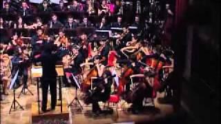 EMF 2011 - Orchestra Sinfonica Internazionale Giovanile - Ouverture Cubana .avi
