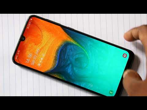 How To Change Wallpaper And Theme In Samsung Galaxy A30 Youtube
