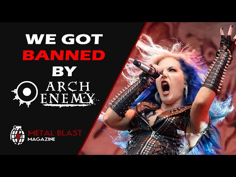 How We got Banned from Arch Enemy Concerts
