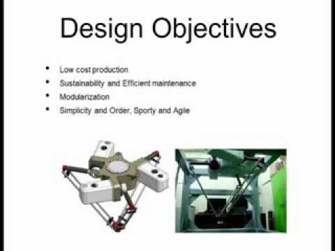 An Economic and Practical Design Approach to a Delta Robot