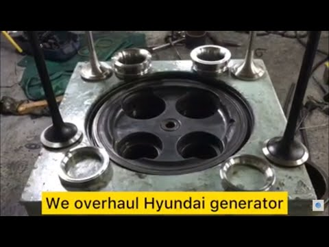 SHIP FITTERS JOB How to install valve seats for Generator Cylinder head and trick ideas