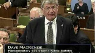 Cheryl Gallant and Dave MacKenzie on the long-gun registry