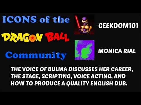 MONICA RIAL INTERVIEW: The voice of Bulma speaks about Dragon Ball Super, Kai + MORE