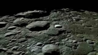 Japanese moon probe - KAGUYA (SELENE) high definition video