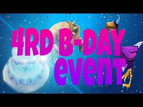 Arcane Legends- 4rd Birthday AL 🎉 (event)🎉 + #TIPS