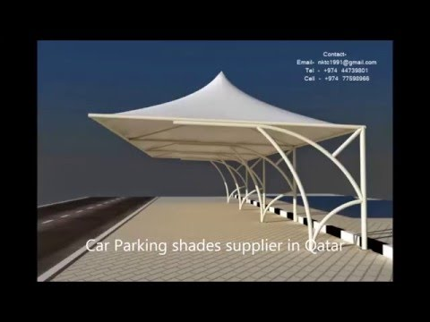 car parking shades supplier in qatar