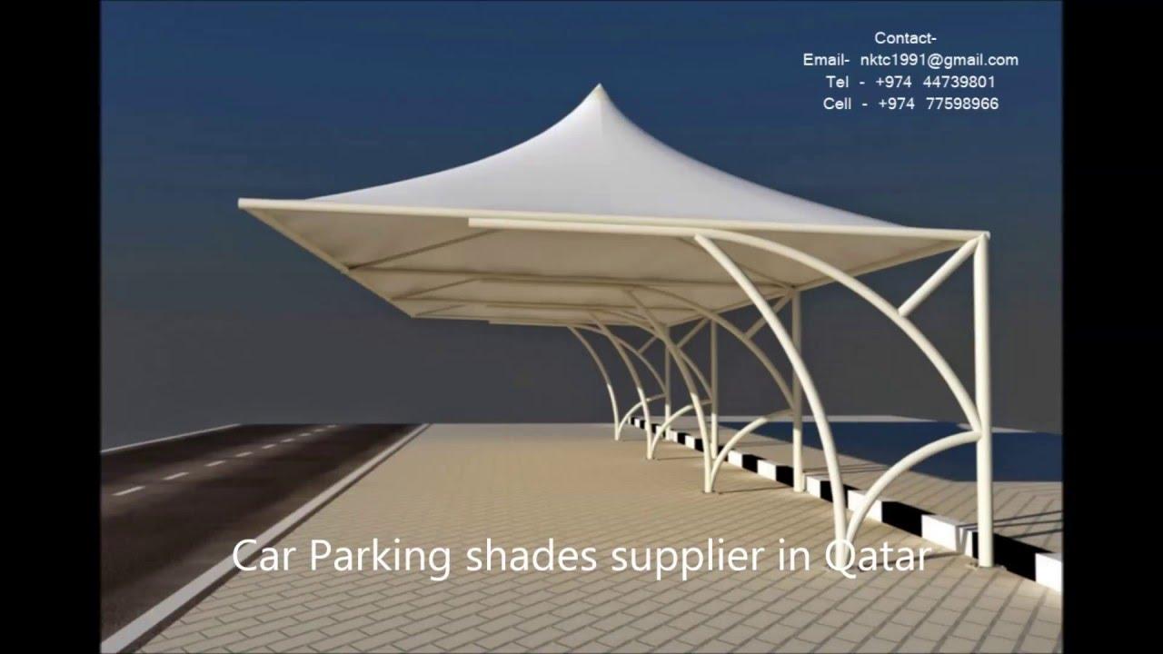 car parking shades supplier in qatar  YouTube