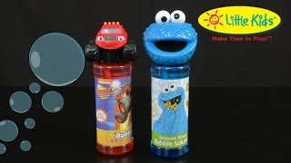 Blaze and Cookie Monster Bubbles from Little Kids