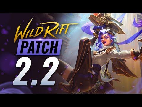 NEW UPDATE: Patch 2.2 Rundown GALIO U0026 AMERICAS Release! Wild Rift (LoL Mobile)