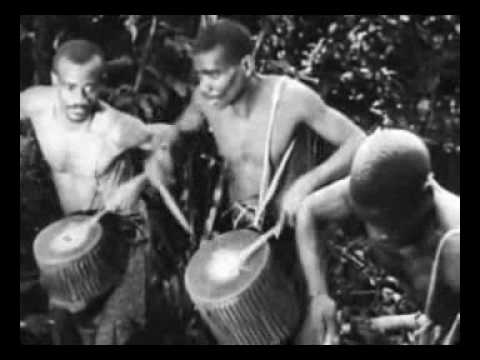 Oldest African drumming footage ever