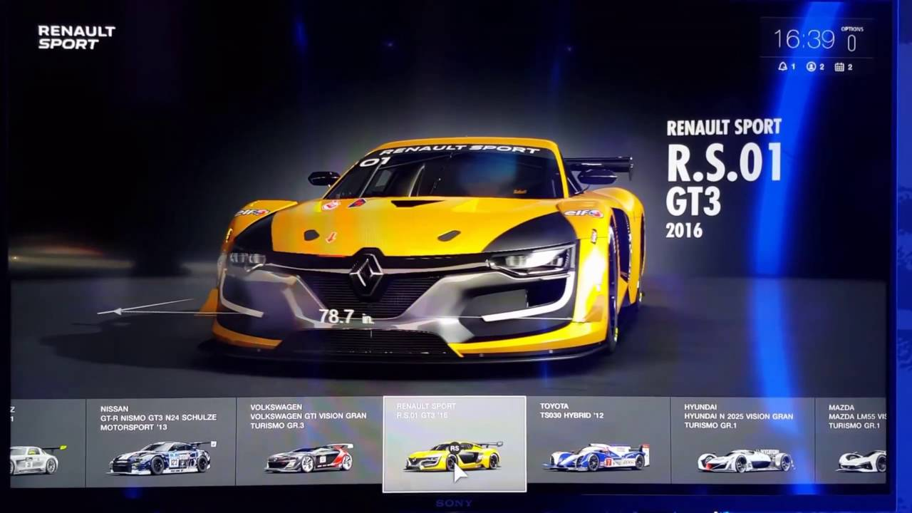Gran Turismo SPORT Car List QHD FP YouTube - List of sports cars