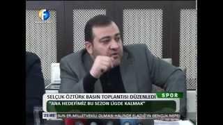 Kanal Fırat Spor - Selçuk Öztürk Basın Toplantısı Düzenledi