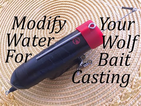 Modify Your Water Wolf UW Cam For Bait Casting W/Out Losing The Lead!